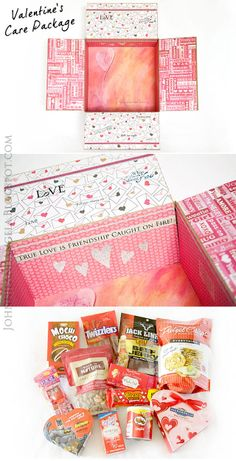 Valentine's Day Care Package #MilitaryCarePackage #Deployment