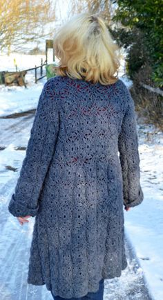 pattern for the Anna Crochet Cardigan / Coat byqueenieamanda.
