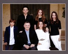 royal family of jordan | New years and season greeting cards from the Jordanian Royal Family
