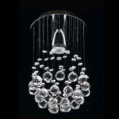 candil de cristal cortado de lujo williams krystal gamalux