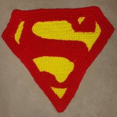 How to Crochet the Superman Symbol Superhero Hats, Superhero Logos, Crochet Stitches, Crochet Patterns, Crochet Hats, Superman Symbol, Yarn Crafts, Winter Hats, Symbols