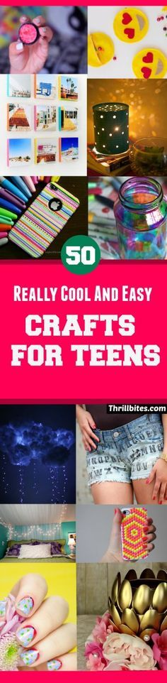 50 Really Cool and Easy Crafts For Teens | DIY Crafts | Crafts For Teens | DIY Projects For Teens | DIY Ideas