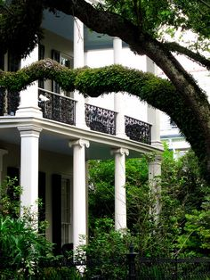 Garden District, New Orleans (My absolute FAVORITE place to visit). very similar to Jacques New Orleans style home. Oh The Places You'll Go, Places To Travel, Places Ive Been, Places To Visit, New Orleans Homes, New Orleans Louisiana, Louisiana Usa, Dream Vacations, Vacation Spots