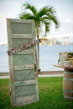 sweet as pie dessert buffet   Set Free Photography #wedding