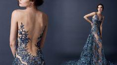 blue dress paolo sebastian