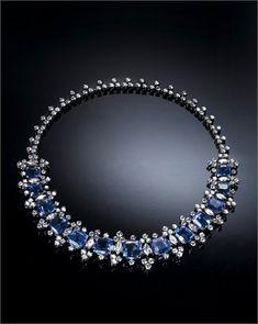 Cascades of sapphires - Vogue.it