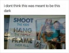 "family photo studio: ""Shoot The Kids, Hang The Family,Frame them all"""