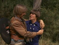"""Pictures from The Monkees episode """"It's a Nice Place to Visit"""" with Davy Jones, Micky Dolenz, Peter Tork, and Mike Nesmith. Peter Tork, Pop Rock Bands, Davy Jones, The Monkees, King Of Hearts, Great Bands, Cool Places To Visit, The Beatles, My Boys"""