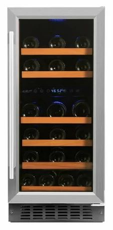 Smith & Hanks 32 Bottle Dual Zone Freestanding/Built-In Wine Refrigerator & Reviews | Wayfair