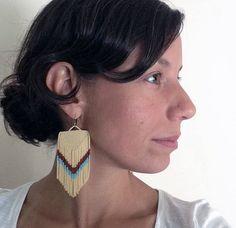 FINAL SALE Native Tribal Style Bead Chevrons by handmadewarrior