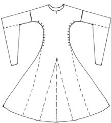 bliaut pattern - Google Search