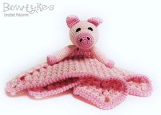Perfect for pairing with your favorite little piggie book! Ravelry: Piggy Lovey pattern by Briana Olsen