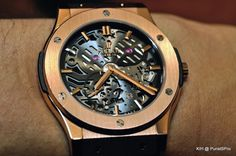 Hublot Extra-Thin Skeleton