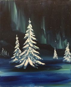 Pint + Paint: The Northern Lights — Meikle Studios Social Art House Social Art, Paint Party, All Art, Home Art, Northern Lights, Studios, Canvas, Artist, Fun
