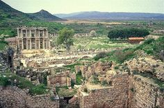 Beautiful and Mysterious ruins: Ephesus and Teotihuacan Pyramids ~ Tourism and Landscapes