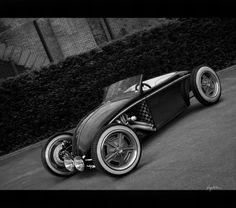 VW Bug Rat