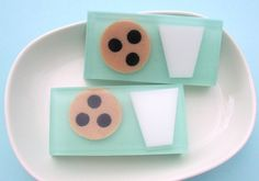 Soap - Cookie and Milk Soap - Chocolate Chip Cookie Scent - Fun Soap for Kids - Sunbasilgarden Best Seller. $6.50, via Etsy.