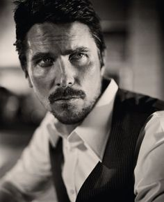 Christian Bale by Vincent Peters