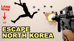How Would You Escape North Korea? (The 7 Choices) - Watch Video - Reisen Military Trends, Military News, Military History, Military Army, Bento, The Blitz Ww2, The Rat Patrol, Land Mine, Military Videos