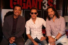 Chayanne, Marc Anthony, Marco Antonio Solis kick-off their tour #latino #music