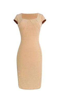 Jeansian Womens Bodycon Dress Slim Fit Clubwear Tops W1113_Khaki_XL jeansian http://www.amazon.com/dp/B00OLHSTS8/ref=cm_sw_r_pi_dp_qDKFwb1JEMH20