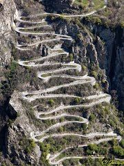 Col Du Chaussy, France has been on the route of the Tour de France several times. Beautiful Roads, Beautiful Places, Places To See, Places To Travel, Dangerous Roads, Rhone, Road Cycling, Travel Inspiration, Scenery