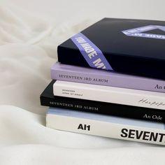 Aesthetic Themes, Purple Aesthetic, Kpop Aesthetic, Aesthetic Pictures, K Pop, Teen Bedroom Organization, Theme Bts, Kpop Diy, Seventeen Album