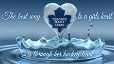 💙GO LEAFS GO💙 Hockey Games, Ice Hockey, Toronto Maple Leafs, How Big Is Baby, Montreal Canadiens, Good Ole, Nhl, Leaves, Motivation