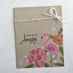 Some Like it Hot: PTI, summer, flamingo, hibiscus