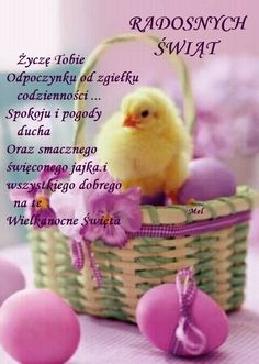 Weekend Humor, Easter, Bird, Aga, Frases, Palmas, Happy Easter Pics, Polish Sayings, Gifts