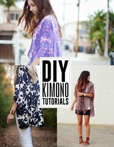 Check out the Girl Charlee Blog today at blog.girlcharlee.com for some great tutorials on sewing up this season's hottest trend, the Kimono!