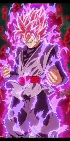 Dragon Ball Super Manga 20 Super saiyajin Rose by IITheYahikoDarkII