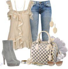 LOLO Moda --  I'd wear sandals