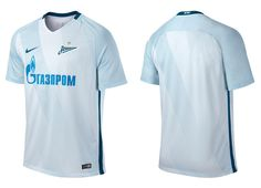 Camisas do Zenit 2016-2017 Nike Reserva kit