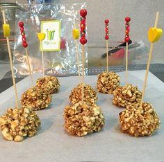 ChupChupChup: Bolas de palomitas con caramelo