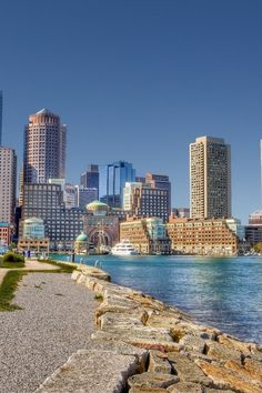 Boston, Massachusetts... I had to go here for work... Meditech training... my mom went with me.