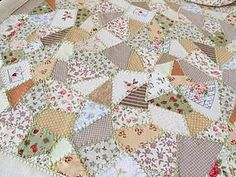 Салфетка из обрезков ткани своими руками   Ярмарка Мастеров - ручная работа, handmade