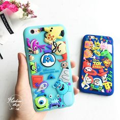 3D Sulley MonstersToy Story rubber silicone soft case cover for iphone6S plus #UnbrandedGeneric