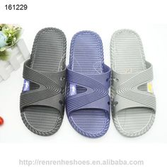 7ff5dea671a6 PVC air blowing slippers for old men indoor bathroom shoes 2017