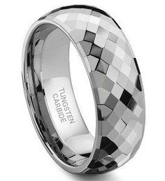 Tungsten Carbride, men's ring...