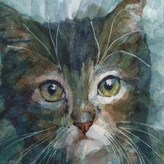 Watercolor by Paul Lovering