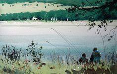 Aquarel·les Carles Pellejero: Les Angles