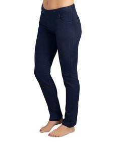Another great find on #zulily! Dark Blue Midnight Skinny Jeans - Plus Too #zulilyfinds