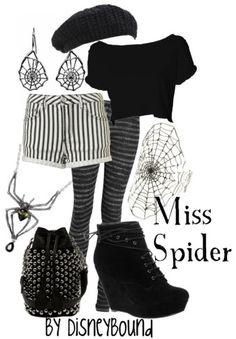 Miss Spider- Disneybound