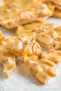 No candy thermometer is required for this no hassle microwave peanut brittle candy recipe. And it takes only 10 minutes of hands-on time. It can't get easier than this!