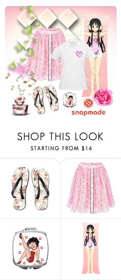 """Snapmade 8. - Gorgeous Girl"" by carola-corana ❤ liked on Polyvore featuring Fendi, vintage and snapmade"