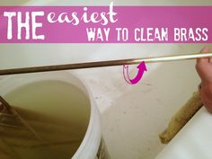 How to clean brass the easy way - C.R.A.F.T.