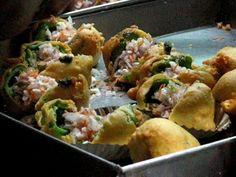 Capsicum Bhaji (Bangalore) | 22 Vegetarian Indian Street Foods That Will Make You Salivate Unattractively
