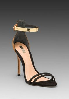 Gold Ankle Strap