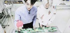 Taemin and Kai SHINee Exo Taemin that hair flip though....